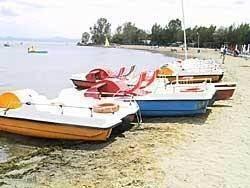 pedaalbootjes trasimenomeer