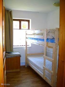 ground floor bedroom with bunk beds