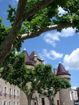 The town of Aubenas
