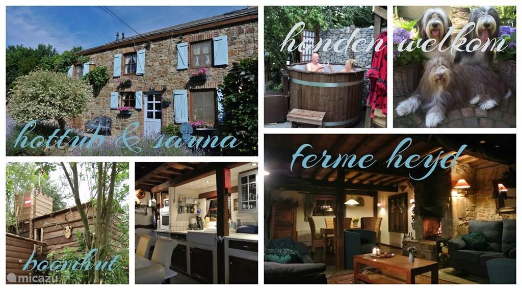 Ferienwohnung Belgien, Ardennen, Heyd ferienhaus Ferme Heyd