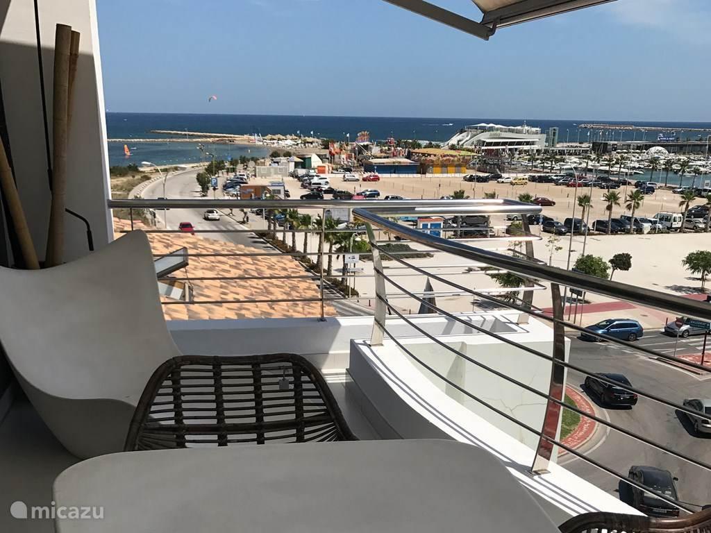 Vakantiehuis Spanje, Costa Blanca, Dénia penthouse Gebouw: Nautilus