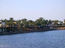 Het plaatsje Dahab