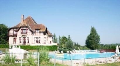 Het park Chateau Cazaleres