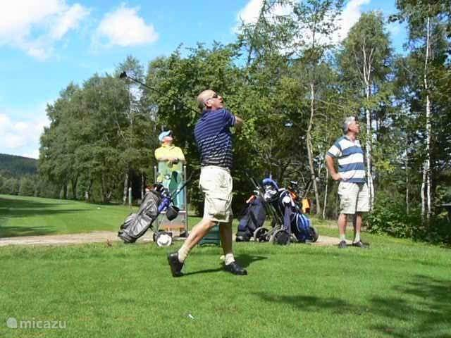 Golf on the hills