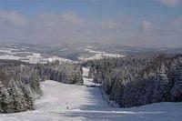 uitzicht over de piste van Züschen