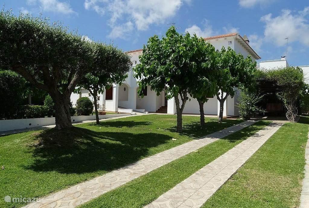 De olijfboom in de tuin, dat brengt voorspoed en geluk, dus ook voor de gasten. De tuinman zorgt ervoor dat alles er mooi bij ligt.