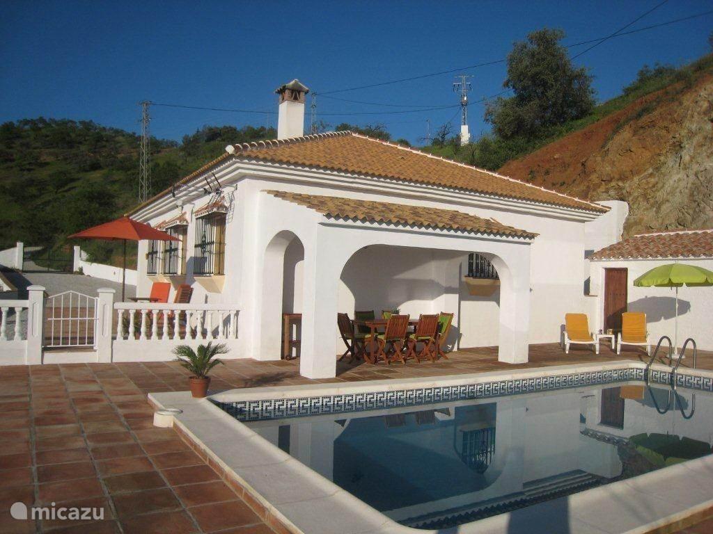 Vakantiehuis Spanje, Andalusië, Colmenar - villa Villa Lasata Droomhuis onder de zon