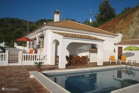 Vakantiehuis Spanje, Costa del Sol, Comares - villa Villa Lasata Droomhuis onder de zon