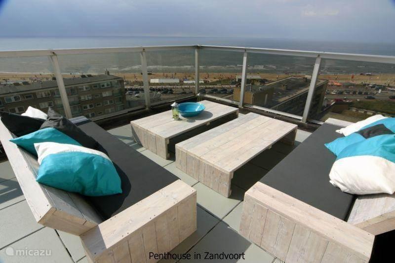 Vakantiehuis Nederland, Noord-Holland, Zandvoort penthouse Penthouse aan Zee