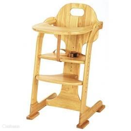 Kinderstoel aanwezig