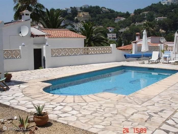 Fijn zwembad  met veel privacy