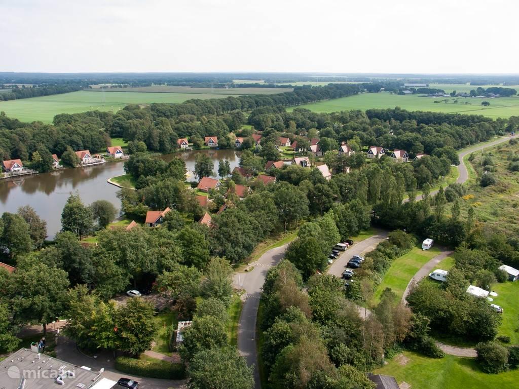 Vakantiehuis Nederland, Drenthe, Westerbork Vakantiehuis Het Timmerholt TV4*** , gratis wifi