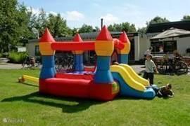 Timmerholt is een prima gezinspark, waar ook de kleintjes veilig kunnen spelen.