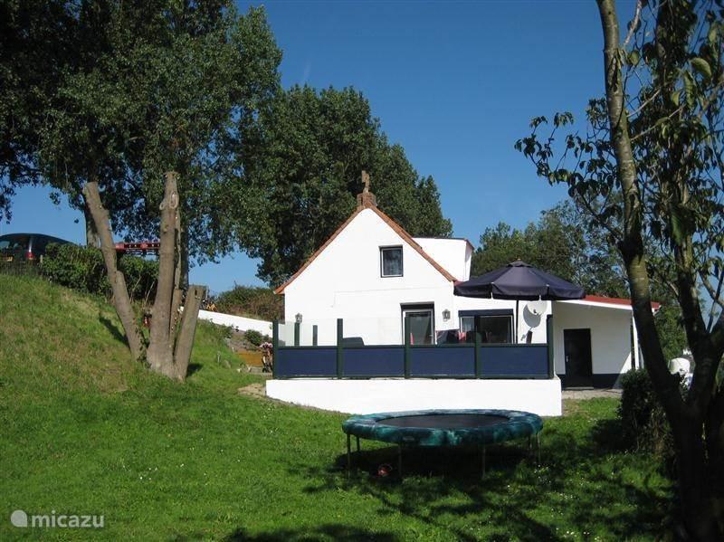 Vakantiehuis Nederland, Zeeland, Nieuwvliet Vakantiehuis Vrijstaand dijkhuis