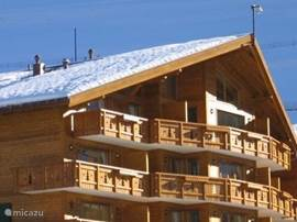 appartement met groot balkon in zon!