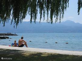 strand van Lausanne