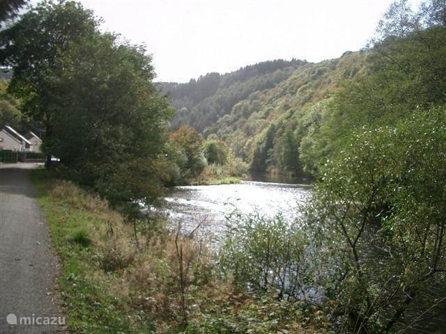 Fluss Ourthe
