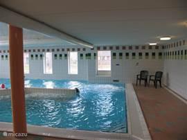 Nogmaals een foto van het binnenzwembad,in het centrumgebouw.