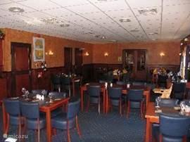 Restaurant in het centrumgebouw