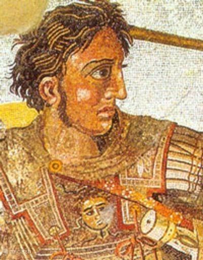 9. Alexander de Grote (356-323 v. Chr.)