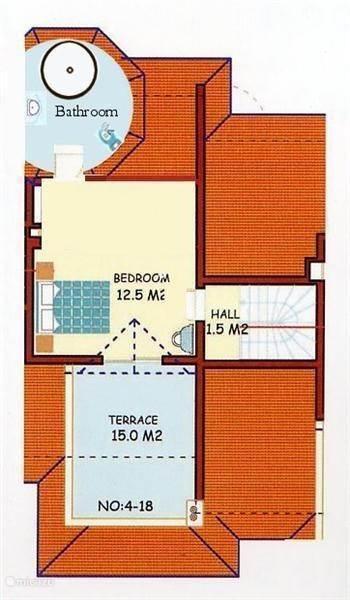 Plattegrond 2e etage