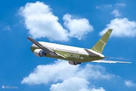Directe en goedkope vluchten naar Sicilië