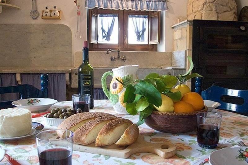 Vakantiehuis Italië, Sicilië, Balestrate Vakantiehuis Casa nell`antico baglio