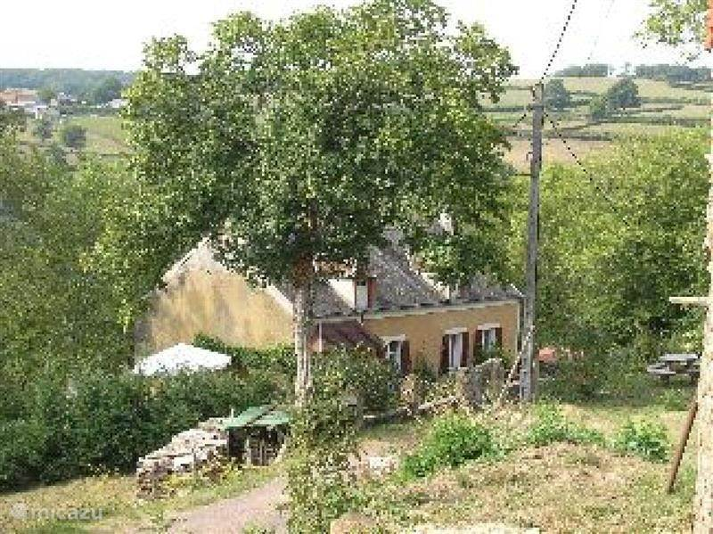 What was an empty house in St. Andre-en-Morvan our house