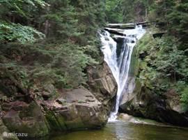 Deel van de watervallenwandeling