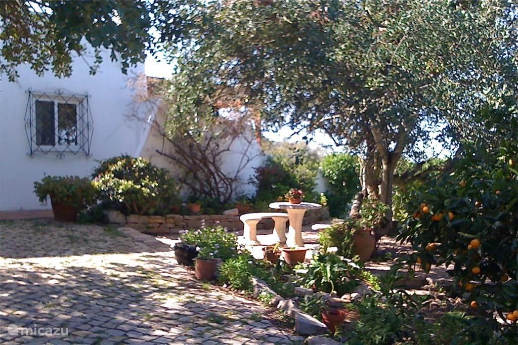 De voorkant van de Casa
