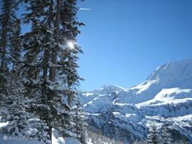 sneeuwwandelen in de Hoho Tauern