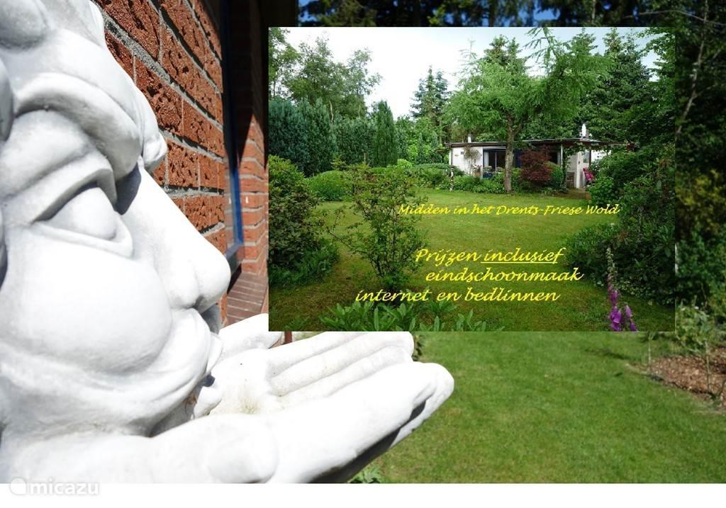 Vakantiehuis Nederland, Drenthe, Oude Willem Bungalow 'Zeezicht'