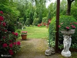 Mooi uitzicht vanuit die tuinstoel