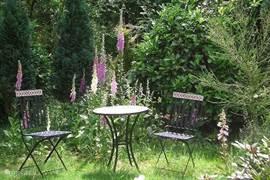 Nog een hoekje in de tuin