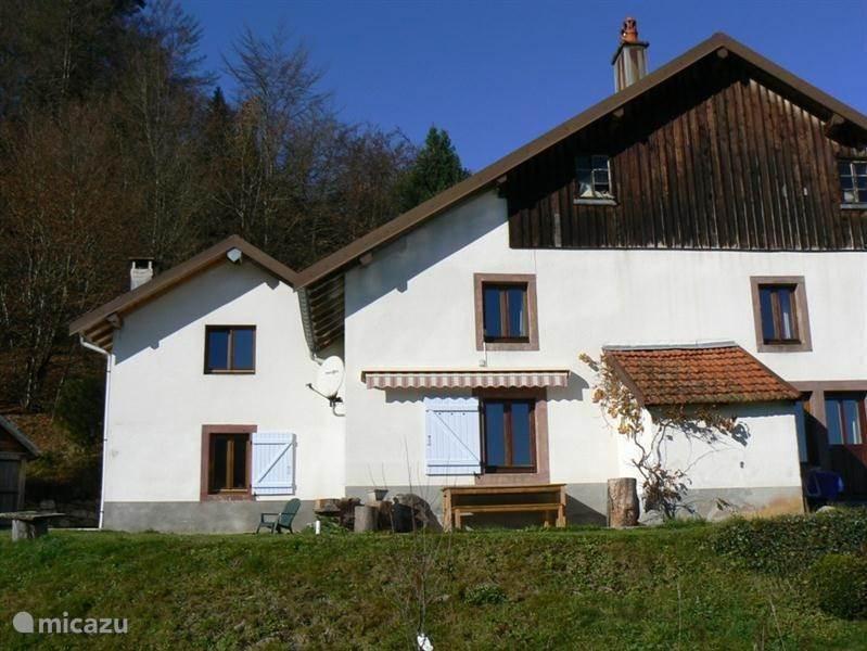 Vacation rental France, Vosges, Le Thillot Farmhouse Belle Foret