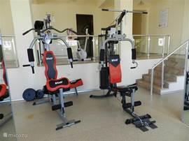 fitness ruimte voorzien (mits kleine toeslag)