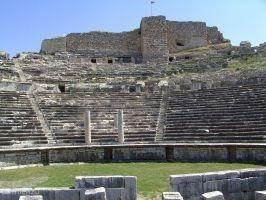 Milete, het theater