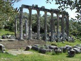 Euromos, Tempel van Zeus