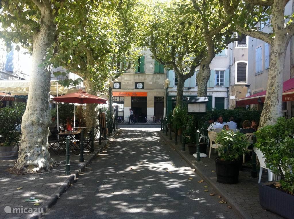 Gezellige terrasjes in Valence