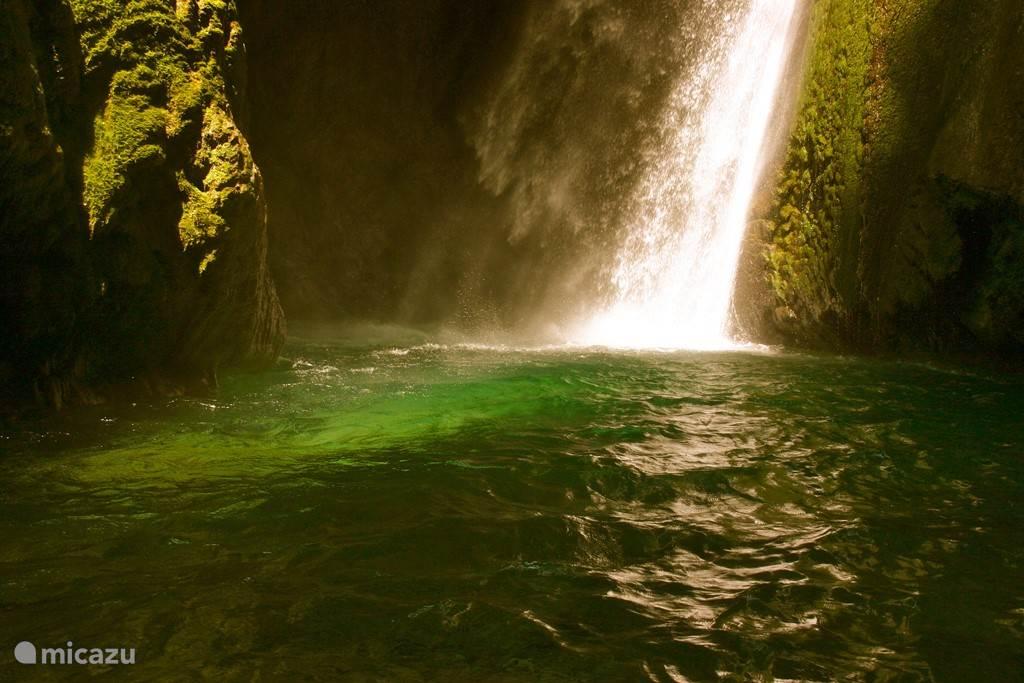 Chûte de la Druise, een waterval van maar liefst 70 meter hoog