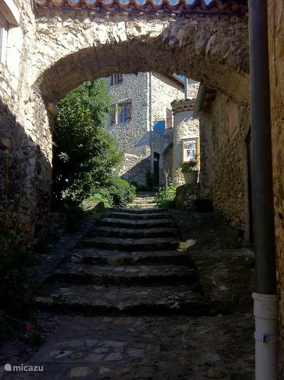 Het prachtige dorp Mirmande
