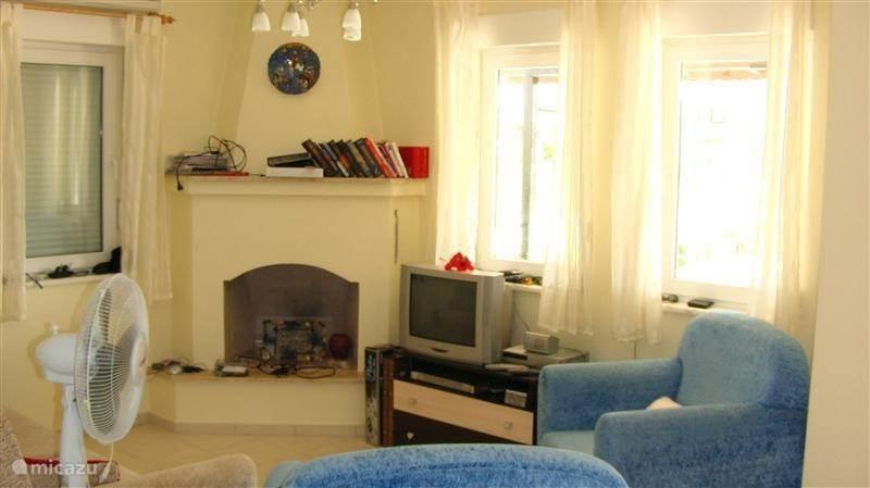 De woonkamer