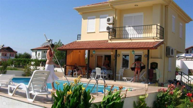 Vacation rental Turkey – villa Villa Palmiye, free wifi