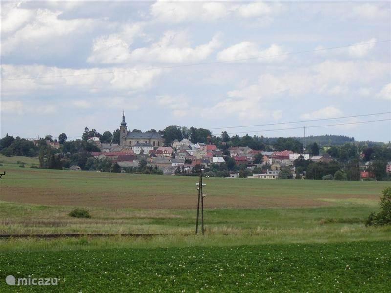 Het stadje Tepla