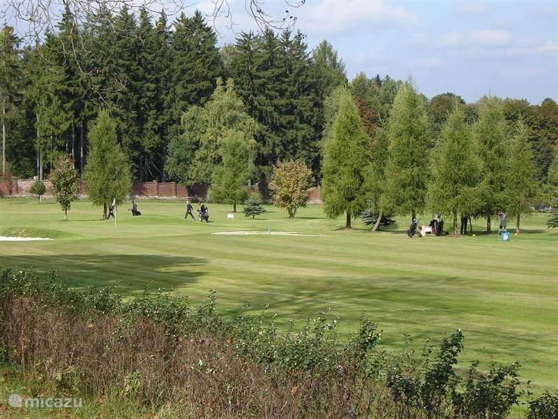 De golfbaan van Klaster Tepla