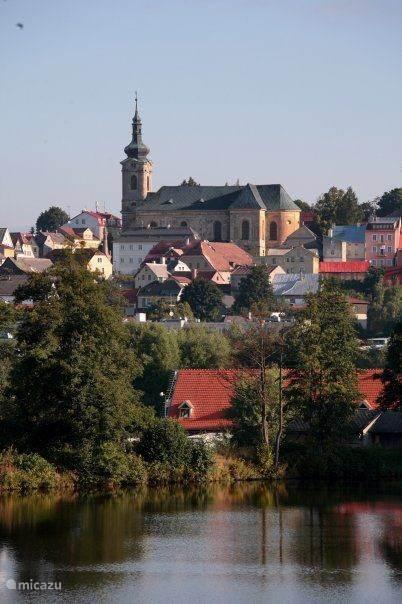 Ons huis ligt op 4 km afstand van het stadje Tepla