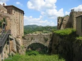 Orsini Burcht in Sorano