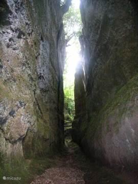 Via Cava in Sorano - Etruskische pad naar Sovana
