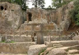 Etruskische tombe in Sovana