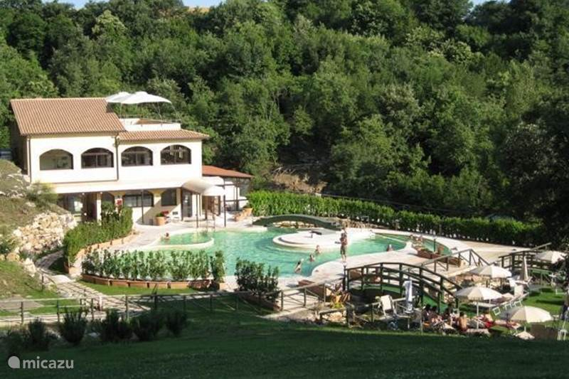 Vacation rental Italy, Tuscany, Sorano Apartment Mansarda in Toscane